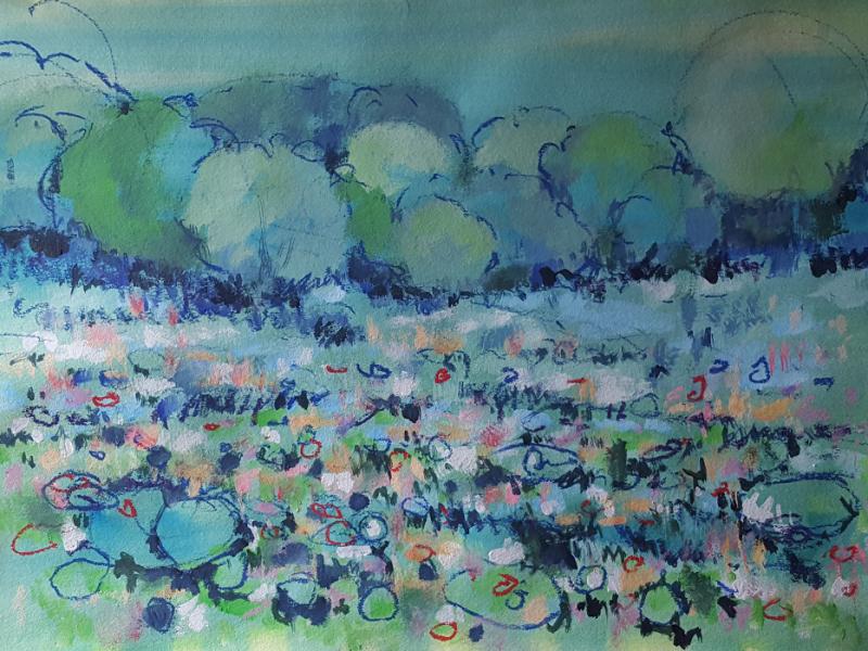 Reisch.Art: Landscape 2017, 70x100cm