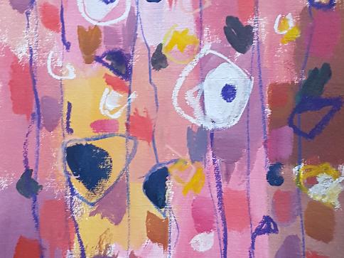 Reisch.Art: abstract-Flower 2017