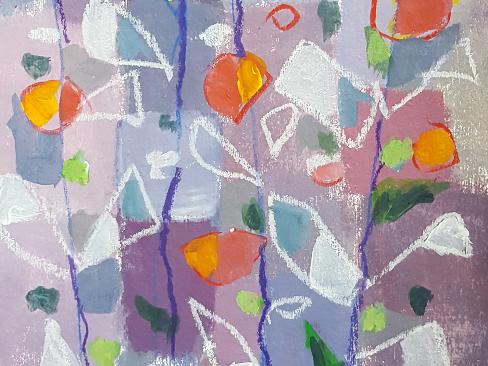 Reisch.Art: abstract-flowers 2017