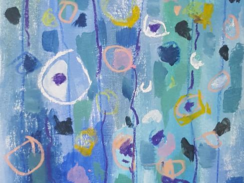 Reisch.Art: abstract-fowers