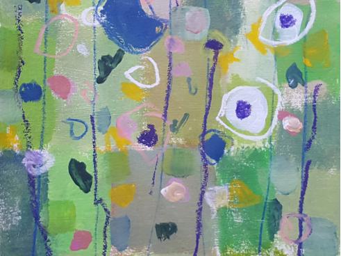 Reisch.Art: abstract-flowers 2917