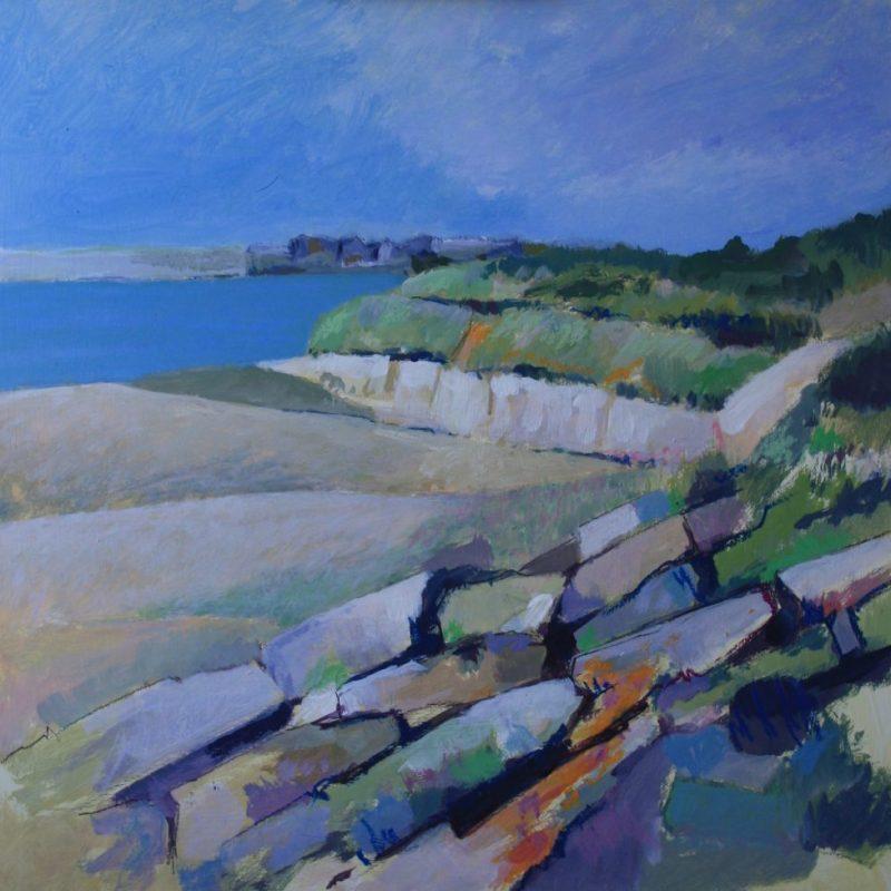 Reisch.Art: Bretonische Küste / Landscape Bretagne